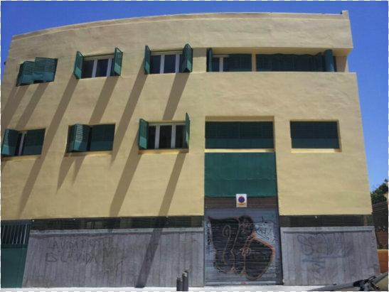 Rehabilitaciones de fachadas en Sevilla - terminada