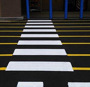 Pintura de suelos de garajes y parking en sevilla grupo atvi - Pintura suelo parking ...